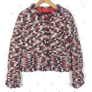 Marc by Marc Jacobs cricket knit lined blazer